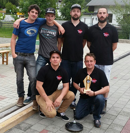 Eisstockturnier-Gruppe Karwendler Plattler