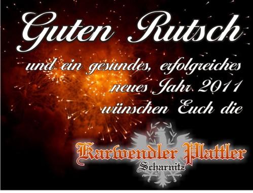 Karwendler Plattler   Tag Archive   neujahr